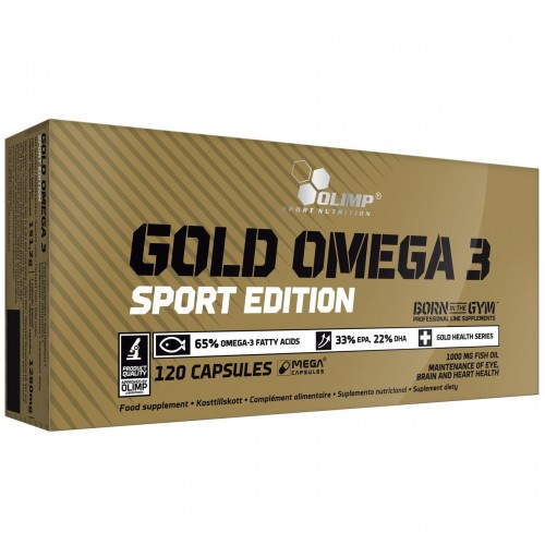 Gold omega 3 65% Sport Edition Olimp Labs 120 caps