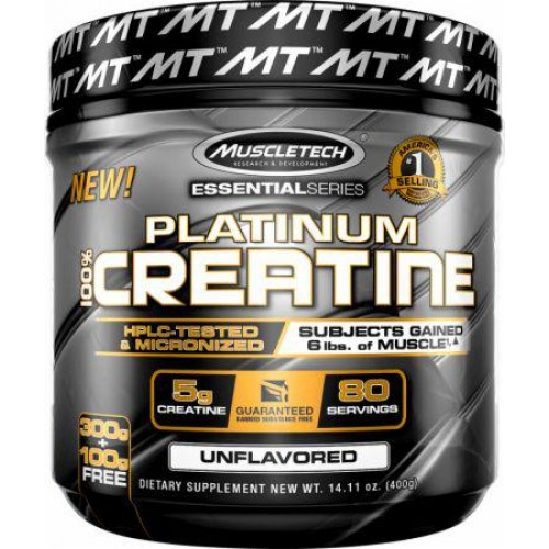 Platinum 100% Creatine Powder MuscleTech 400 g