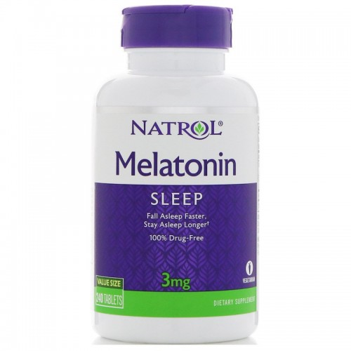 Melatonin 3 mg Natrol 60 tabs