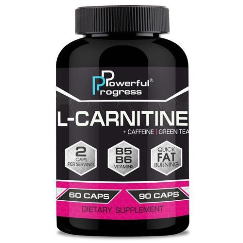 Жироспалювач Powerful Progress L-Carnitine 90 капс