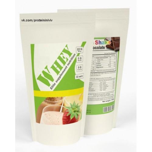 Протеїн Гадяч КСБ 70 % 1 кг (без смакових добавок)