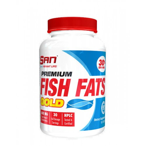Жирні кислоти SAN Premium Fish Fats Gold 60 softgels