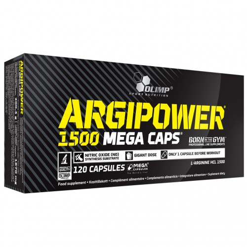 Амінокислота Olimp Labs Argi Power 1500 mg 120 caps