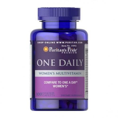 Вітамінно-мінеральний комплекс Puritan's Pride One Daily Women's Multivitamin 100 caps