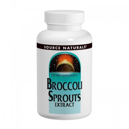 Біологічно активна добавка Source Naturals Broccoli Sprouts Extract 60 Tabs