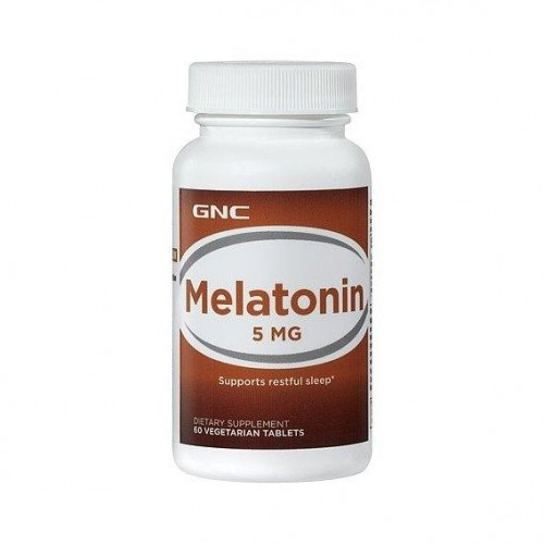 Мелатонін GNC Melatonin 5 мг 60 tabs