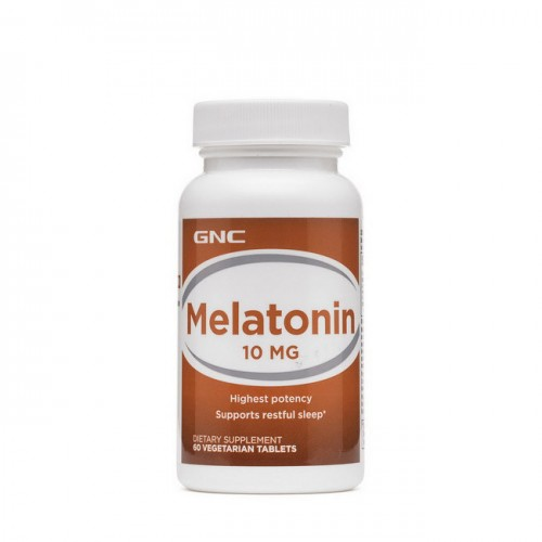 Мелатонін GNC Melatonin 10 мг 60 tabs