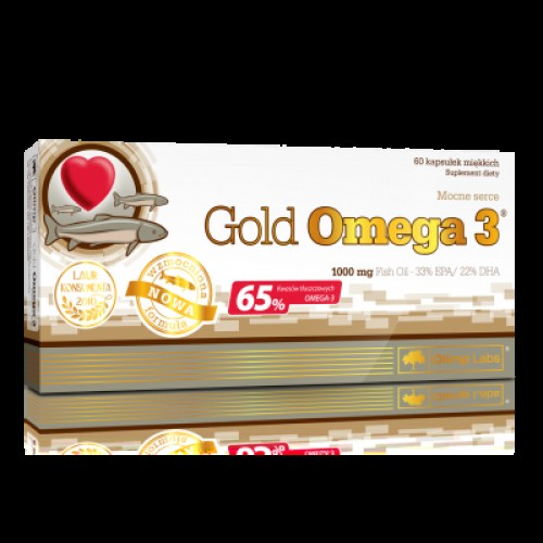 Жирні кислоти Olimp Labs Gold Omega 3 65 % 60 caps