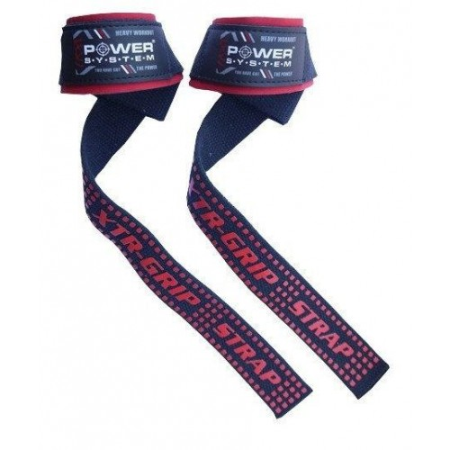 Лямки для тяги Power system Power Straps PS 3430 Black/Red