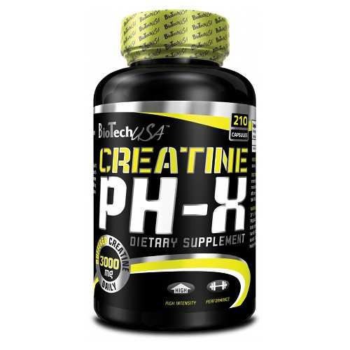 Креатин Biotech Creatine pH-X 210 caps