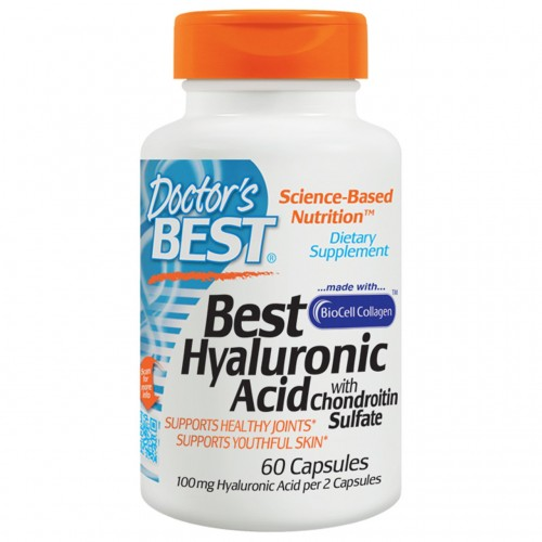 Doctor's Best Best Hyaluronic Acid+Chondroitin Sulfate 60 caps