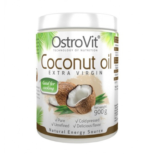 Ostrovit Coconut Oil Extra Virgin нерафінована кокосова олія 900g
