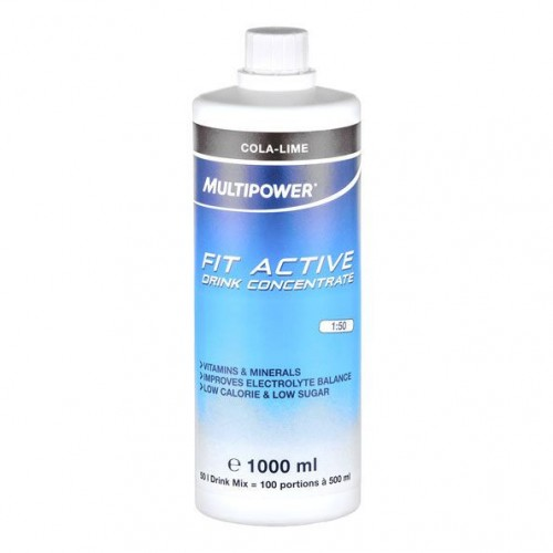 Fit Active L-carnitine Drink Concentrate Multipower 1000 ml