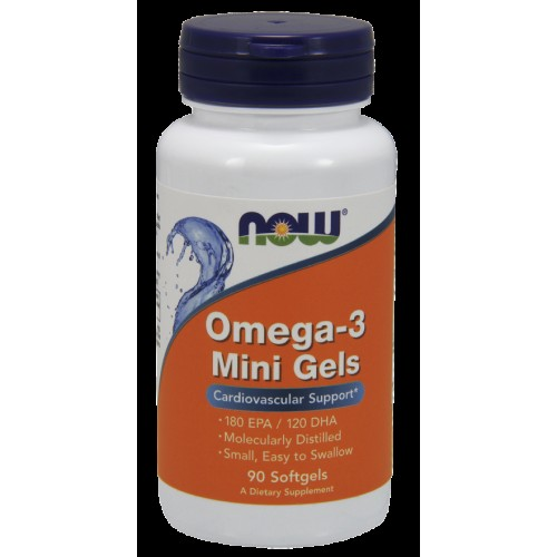 Omega 3 Mini Gels NOW Foods 90 caps