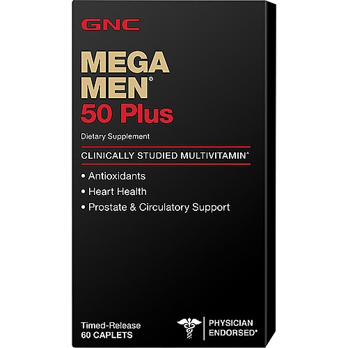 Mega Men 50 Plus GNC 60 caps