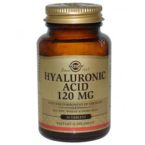 Hyaluronic Acid 120 mg Solgar 30 Tabs
