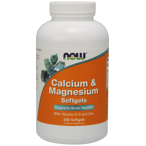 Calcium & Magnesium with Vit D and Zinc 240 Softgels