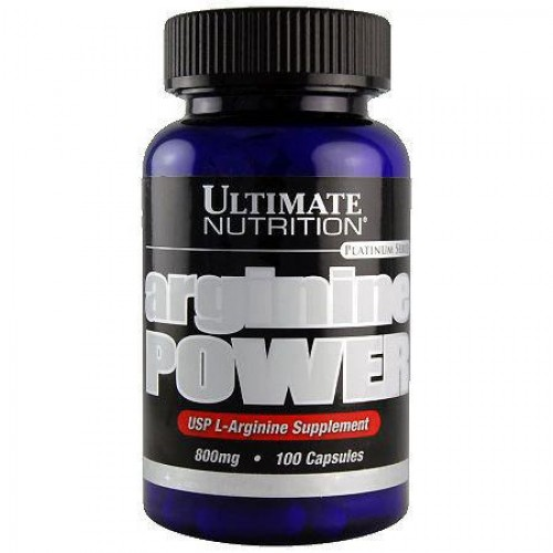 Амінокислоти Ultimate Nutrition Arginine Power 100 caps
