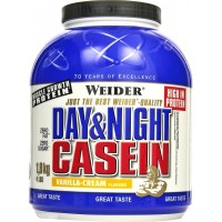 100% Day & Night Casein Weider 1800 g